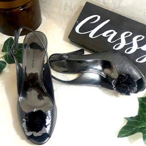 Anne Klein women's Akessa peep toe heels 7.5